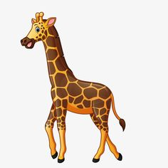 Zoo Giraffe, Zoo, Giraffe, Vector PNG and Vector
