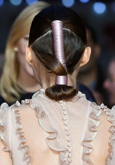 Must-See Beauty Look of the Day: Rooney Mara's Samurai Updo #hair