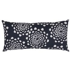 Lumbar Pillow - Roto Floral Black - Threshold™ : Target