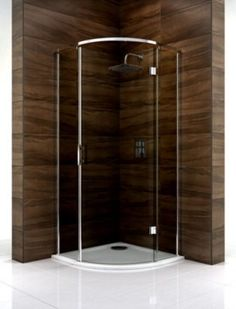 Cooke & Lewis Cascata (W)900mm Smoked Glass Quadrant Shower Enclosure & Tray Pack, 0000004086192