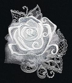 Ghost Baroque - Rose design (UT8595) from UrbanThreads.com