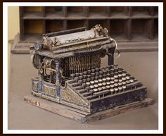 1800's Typewriter. how did the inventor come up with this idea.  i'd love to be able to go back in time and just explore early inventions