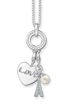 Charms.  You could use that key chain I got you for a necklace.
