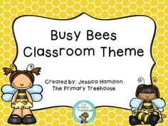 Busy Bees Classroom Theme Decor