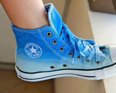 all star converse shoes - blue all star converse for girls: Converse All Star, Converse All Star, Converse Bleu, Converse Shoes For Girls, All Star Shoes, Outfits With Converse, Converse Sneakers, Girls Sneakers, Girls Shoes, Sneakers Fashion