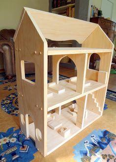 Mini Tutorial: Make a Waldorf Style Dollhouse | The Serendipity