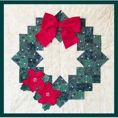 CHRISTMAS TREE WREATH STITCHERY ROSALIE QUINLAN PATTERN KIT - $29