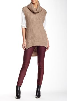 Free Press - Sleeveless Cowl Neck Hi-Lo Sweater at Nordstrom Rack. Free Shipping on orders over $100.