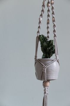 Home Decor Inspiration, Plant Hanger, House Plants, Diy Gifts, Etsy, Flowers, Crafts, Outdoors, Coffee