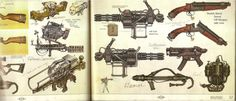 Weaponry #2 - Fallout 3 Concept Art