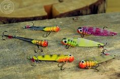 Cykady na sandacza - Cykada Lure Making, Fishing Lures, Vegetables, Handmade, Food, Fishing, Fishing Jig, Hand Made, Essen