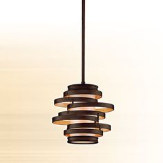Vertigo 1 Light Hanging Mini Pendant