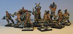 James Wappel Miniature Painting: No hockey? No problem. The rest of the Ilyad band...