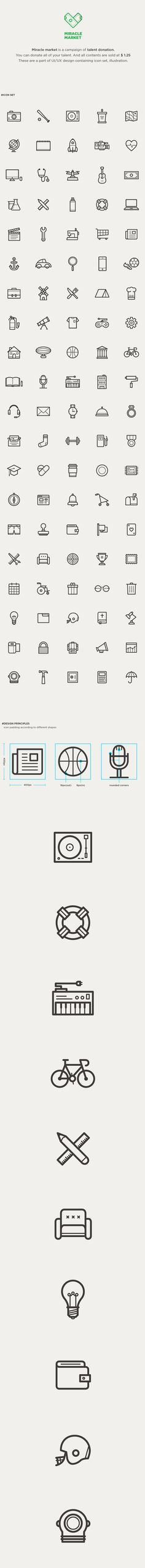 MIRACLE MARKET on Behance