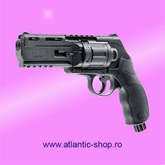 Pistol autoaparare cu bile de cauciuc sau piper , nu necesita permis , functioneaza cu CO2 Joules, Paintball, Hdr, Airsoft, 50th