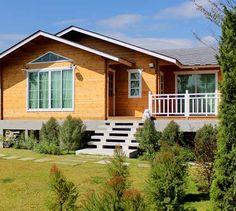 Дачный домик своими руками: проекты каркасных домов фото  дачный домик с террасой своими руками