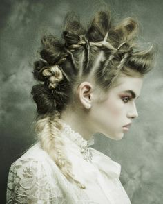 2016 NAHA FINALISTS: Texture>>Hair by: Matthew Tyldesley, Hair By Charles & Company in Louisville, KY>>Photo By: Marshall Shartzer III