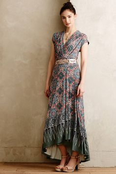 Desert Star Maxi Dress - anthropologie.com