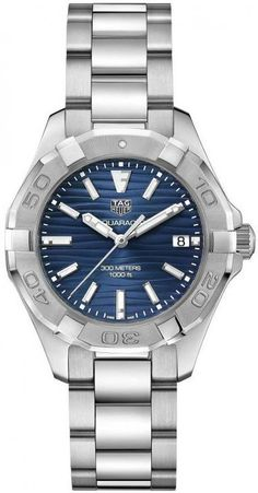 TAG Heuer Watch Aquaracer Ladies D Watch available to buy online from with free UK delivery. Stylish Watches, Watches For Men, Luxury Watches, Tag Heuer Aquaracer Ladies, Rolex Boutique, Rolex Watch Price, Tags, Feminine, Quartz