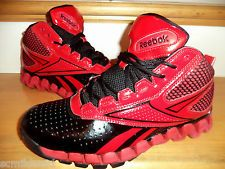 AWESOME REEBOK ZIGS -ZIGTECH BLACK/ RED HIGH HI RUNNING TRAINING SHOES ...