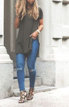Side slit top.
