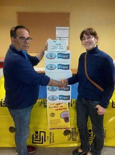 CONSERVAS DE CAMBADOS , Uno de nuestros patrocinadores realiza la primera aportación de Kilo Solidario.