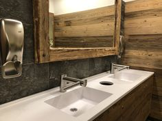 Hand Dryer, Solid Surface, Soap Dispenser, Double Vanity, Sink, Design, Home Decor, Soap Dispenser Pump, Homemade Home Decor
