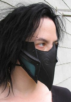"""Mask to be worn during assasinations and other acts deemed """"illgal"""" in our drow society, with the sole purpouse of concieling the wearers identity, not protecting the face from injuries of any kind..."""