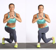 Pin for Later: The Fastest Way to Get a Butt Lift Exercise Alternating Curtsy Lunge 5 Day Workout Routine, 5 Day Workouts, Lifting Workouts, Morning Workouts, Workout Ideas, Killer Workouts, Fitness Inspiration, Perky Butt, Curtsy Lunge