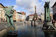 Olomouc fountain, Czech Republic