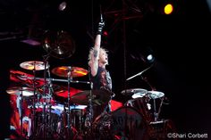 James Kottak of the Scorpions - June 15, 2012 -  Comerica Theater - Phoenix, AZ