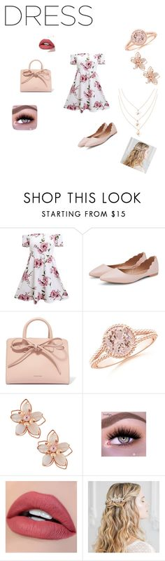 """""""Nice girly day"""" by hannahnicholeeee ❤ liked on Polyvore featuring Mansur Gavriel and NAKAMOL"""