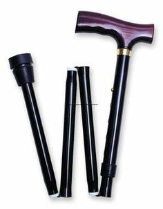 I'm learning all about Invacare Black Fritz Handle Cane Folding Capacity at Folding Cane, Cigar Cases, Mobility Aids, Leather Gifts, Wooden Handles, Cool Patterns, Solid Wood, Personal Care, Health