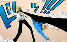 One Piece 840 - Sanji vs Niji by Melonciutus.deviantart.com on @DeviantArt