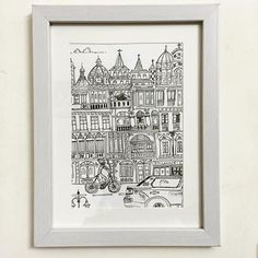 """#Jehangir #mansion #opera #house #mumbai drawn on #sketchbook by @rubberband_kit , framed with #love #thisismyart #India #art #artist #sketch #illustration #city #travel"" Photo taken by @sharmaparul_ on Instagram, pinned via the InstaPin iOS App! http://www.instapinapp.com (08/20/2015)"