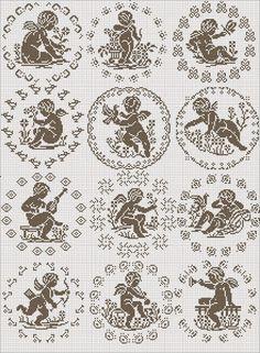282 Fantastiche Immagini Su Angeli Filet Nel 2019 Crochet Angels