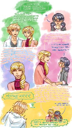 Miraculous doodle dump pt. 3: Catmom edition (click on the photos, there are captions!)Things I need in-canon, like, right now: Catmom meeting MarinetteCATMOM HUGGING ADRIEN. PLEASE LOVE MY BABY BOY. PLEASE LOVE HIM. Things I like to headcanon about her: She's beauty, she's grace, she'll punch you in the faceShe has a knack for throwing immense amounts of shade in such a subtle way that you won't even realise she insulted you until, like, three weeks afterwards (… like, c'mon, this is...