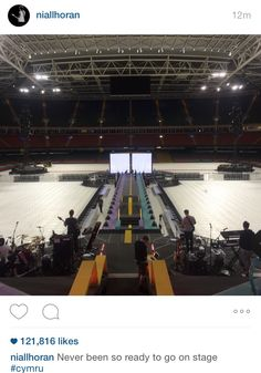 Niall just posted this on IG! Who's excited for the concert? I know I am, I m so happy that I can update again! - 6.5 (by: @KRF1D)