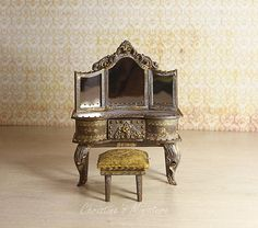 Hey, I found this really awesome Etsy listing at https://www.etsy.com/listing/554454498/miniature-dressing-table-112-dollhouse