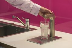 Here is a shot of one of the fabulous Hachette teapoints. The user is dispensing…
