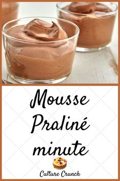 Mousse Dessert, Creme Dessert, Caramel, Creme Brulee, Soul Food, Nutella, Meal Prep, Peanut Butter, Sweet Tooth
