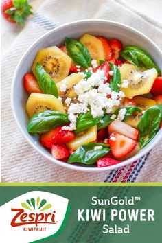 Make lunch time even sweeter with this healthy fruit salad.