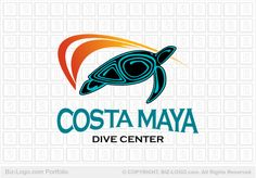 Maya Turtle Logo
