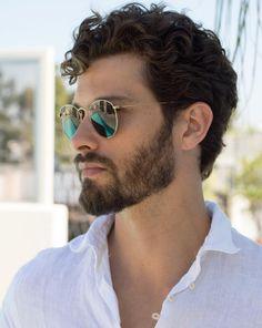 Men Haircut Curly Hair, Wavy Hair Men, Curly Hair Cuts, Curly Hair Styles, Cool Hairstyles For Men, Boy Hairstyles, Haircuts For Men, Long Wavy Haircuts, Beautiful Men Faces