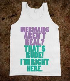 Mermaids aren't real