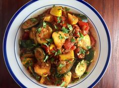 This Ratatouille is light, delicious and so easy to prepare.  Next time you're looking for a healthy, tasty vegetable side, this is it!
