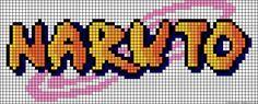 Naruto perler bead pattern