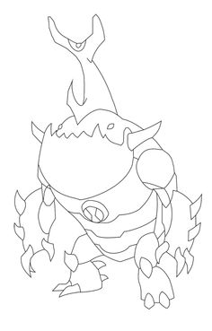 eatle alien change of ben ten coloring page