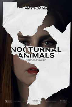 Amy Adams Nocturnal Animals Poster Nocturnal Animals Posters: Jake Gyllenhaal & Amy Adams In New Thriller