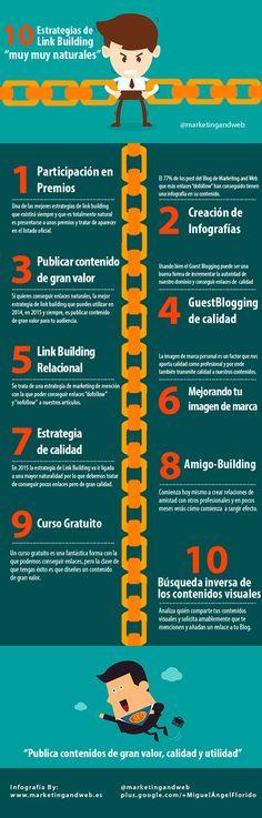 Trabajar el Link Building, para conseguir enlaces entrantes de autoridad, es una de las metas del SEO Off-page y el Marketing. Conoce estás 10 claves para trabajarlo.